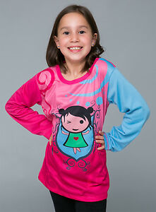 In a wink :: Manga : winter long sleeve Girls T shirt - FREE DELIVERY size 2-12