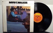 "David T. Walker ""The Sidewalk"" vinyl LPJazz PROMO"