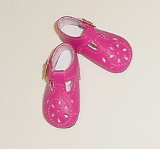 47mm FUSCHIA T-Strap Doll Shoes for Kish Bitty Bethany