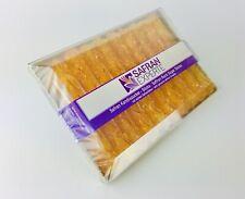 Saffron Rock Sugar Sticks 2x19 Sticks - Kandiszucker mit Safranfäden 38 sticks