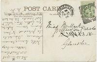 """GB """"WALTON-ON-NAZE"""" (Walton-on-the-Naze) Squared Circle Postmark (Cohen I SC)"""