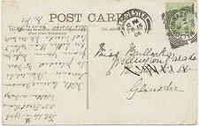 """2455 """"WALTON-ON-NAZE"""" (Walton-on-the-Naze) Squared Circle Postmark (Cohen I SC)"""