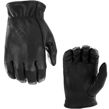 Highway 21 Louie Leather Motorcycle Riding Gloves