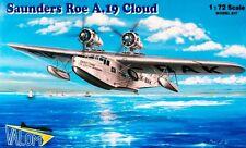 Saunders Roe A.19 en la nube (British un Checoslovaca marcas) 1/72 Valom Raro