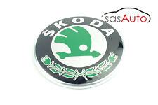 Brand New Genuine Skoda Badge Emblem 3U0853621B