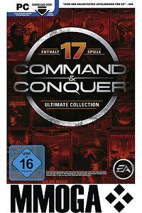 Command & Conquer - The Ultimate Collection Key - EA Origin Code PC Spiel NEU EU