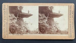 Wisconsin Stereoview Photographer w/ His Camera on Visor Ledge by Ingersoll