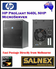 HP MicroServer ProLiant N40L, AMD Duel Core,4GB RAM 4 HDBay, 2 x 500GB +PCI