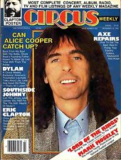 Circus Weekly December 19 1978 #203 Alice Cooper Bob Dylan Eric Clapton LOTR