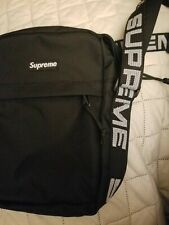NEW SS18 SUPREME UTILITY POUCH BLACK CORDURA fanny pack Shoulder bag