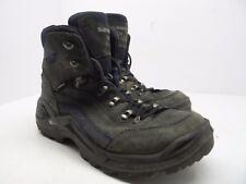 Lowa Men's Renegade GTX Mid Hiking Boot Dark Grey/ Navy Size 7.5W