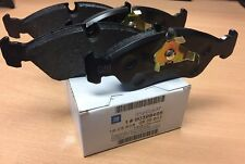 Genuine Vauxhall Astra MK3 Vectra Cavalier Calibra Front Brake Pads Kit 93192637
