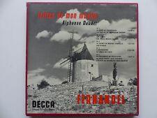 """Coffret 5x 10"""" Lettres de mon moulin DAUDET FERNANDEL 133022 023 145 146 713"""