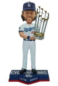 Clayton Kershaw Los Angeles Dodgers 2020 World Series Champions Bobblehead MLB