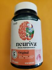 Neuriva Brain Performance Coffee Cherry Gummies Strawberry Flavored 50 cts NEW