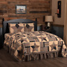 VHC Bingham Primitive Star Country Quilt (Your Choice Size & Accessories)
