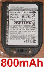 Batterie 800mAh type LGLP-GADM SBPP0013101 09CKLC1150 Pour LG C1150