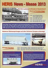 Heris novedades-folleto 2013, pista h0 modelo vagón de ferrocarriI