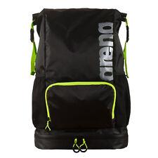 Arena Dry Fast Swim Bag Backpack Fluo Green Black Waterproof