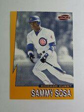 SAMMY SOSA 1999 PACIFIC INVINCIBLE SEISMIC FORCE BASEBALL CARD # 6 C8740