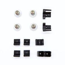 Shower screen door  spare parts and rollers repair kit BLACK  Betta, Ezyglide
