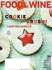 Food & Wine Magazine December 2020 Cookie Crush Candy Recipes Christmas Bake Usa