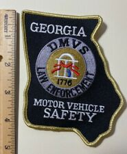 Georgia Motor Vehicle Safety Patch - New