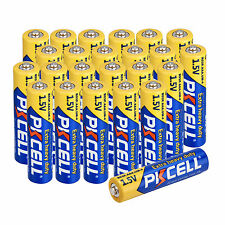 PKCELL 24pcs AAA Alkaline Battery 1.5V R03P Single Use Dry Batteries For lights