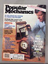 Popular Mechanics Magazine February 1981 Lincoln Clocks / Hovercraft/Solar Cells