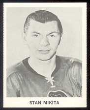 1965 COCA-COLA COKE STAN MIKITA NM CHICAGO BLACK HAWKS HOCKEY CARD