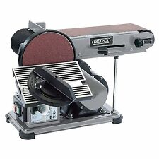 Draper 53005 300W 230V Belt And Disc Sander / Sanding / Woodworking New