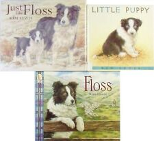 3 Border Collie Illustrated Dog Books Just Like Floss Little Puppy Sheepdog