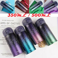 350-500ml Travel Vacuum Bottle Tea Coffee Mug Water Cup Insulated Flask Portable