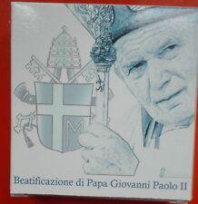 "Vatikan 2011 5 EURO Gedenkmünze ""SELIGSPRECHUNG Papst Joh. Paul II"" SILBER Proof"