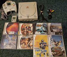 Sega Dreamcast + 8 Games