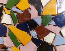 SOLID BROKEN TILES PER POUNDS TO MAKE MOSAICS BACKSPLASH FLOOR USE #002