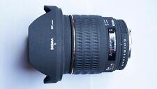 SIGMA PENTAX FIT EX DG 20mm f/1.8 FX Lens + CAPS + SIGMA LENS CASE 20 mm 1.8