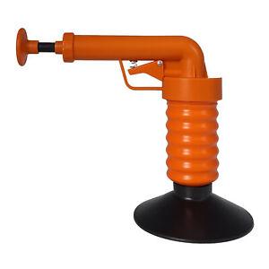 Drain Buster Pressluft Rohrreiniger Abflussreiniger Rohrreinigung Pömpel Pümpel
