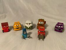 Disney Pixar Cars Mini Toy Plastic Diecast Lot Of 7 Cars Trucks & Vehicles
