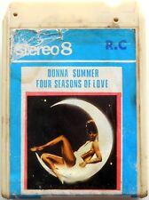 CARTRIDGE TRACK TAPE CASSETTA STEREO 8 DONNA SUMMER FOUR SEASONS OF LOVE 70s