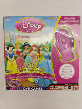 Disney Princess Dream Journey DVD Board Game With Remote Songs & Movie Clips
