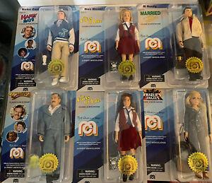 "Mego Cheers Al Bundy Action Figure 8"" 6 Figure Doll Lot (A)"