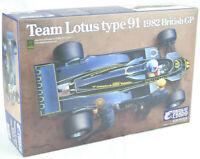 Ebbro Team Lotus Type 91 - 1982 British GP 1/20 Formula 1 F1 Model Car Kit