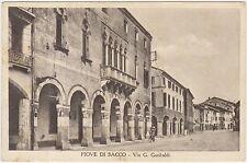 PIOVE DI SACCO - VIA G.GARIBALDI (PADOVA) 1941