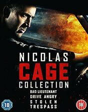 Nicolas Cage Quad Pack [Bluray] [2015] [DVD]