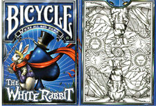 CARTE DA GIOCO BICYCLE THE WHITE RABBIT, unlimited edition,poker size