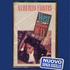 "ALBERTO FORTIS "" WEST OF BROADWAY "" MUSICASSETTA NUOVA  (MC - K7)"