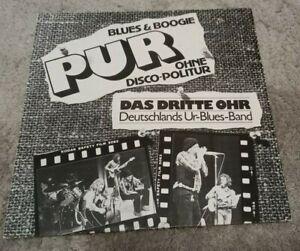 Das Dritte Ohr - Pur (Blues & Boogie) - Vinyl LP - 1977 - Blues / Blues Rock