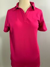 New Under Armour Women's HeatGear Polo, Pink, XS