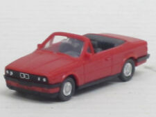 BMW 325i Cabrio in rot, o. OVP, Wiking, 1:87